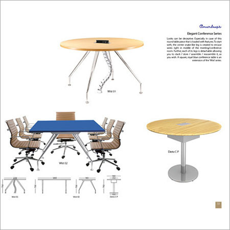 Elegant Conference Table Series Dieto C P  Wlst 02  Wlst 1