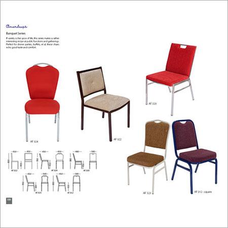 Banquet Chair AF 312 - Square  AF 320  AF 322  AF 323