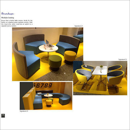 Modular Seating Signature 21  Signature 22
