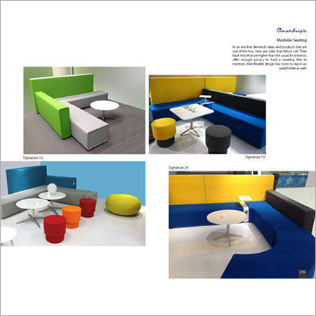 Modular Seating Signature 19  Signature 20