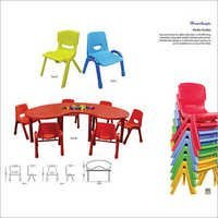 Kinder Garden Table Fun B  Fun E  Fun I