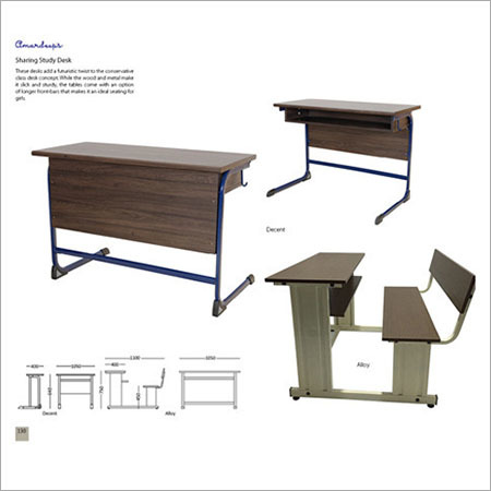 Sharing Study Desk Decent  Alloy