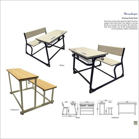 Sharing Study Desk Binary  Compound