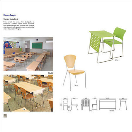 Educational Chairs And Tables