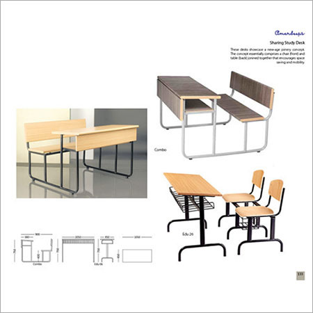 Sharing Study Desk Combo  Edu 26