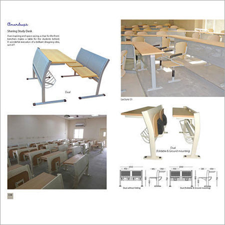 Sharing Study Desk Dual  Lecture 01  Dual (Foldable