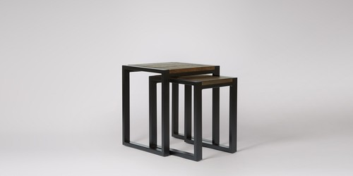 Industrial Nested Set Of Stools