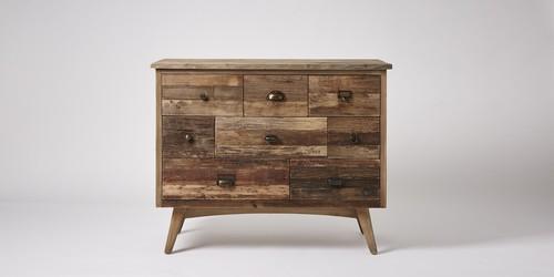 Drawer Wood Chest
