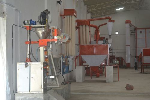 Automatic Sattu Making Machine