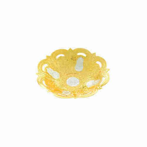 Traditional Festival Gifts Gold Plated Bowls