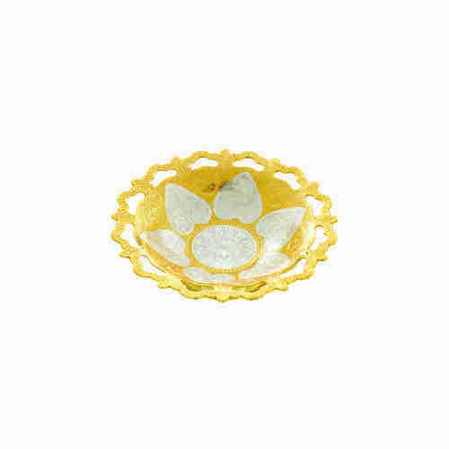 Wedding Return Gifts Gold Plated Bowl