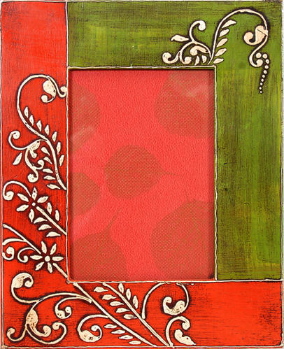 Hand Painted Photo Frame