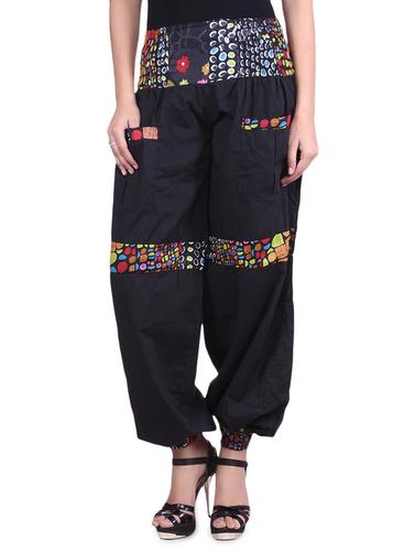 Cotton Plain Black Color Trouser