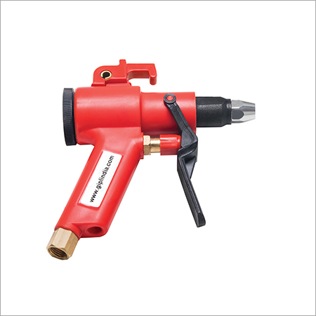 Silent blow off nozzle, noise lower than 85 db, OSHA safety norms compliant