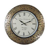 Wooden Coin Wall Clocks