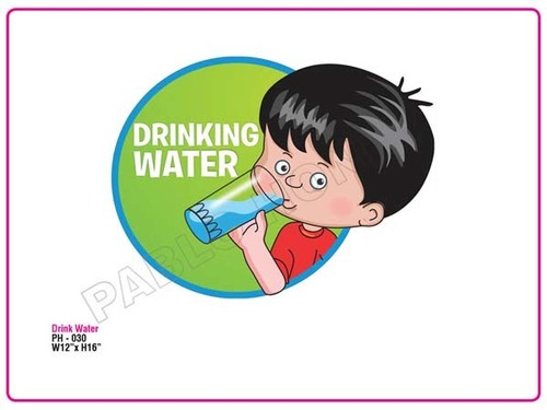 Drink Water Cutout