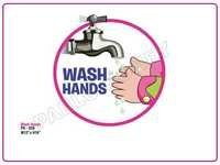 Wash Hands Cutout