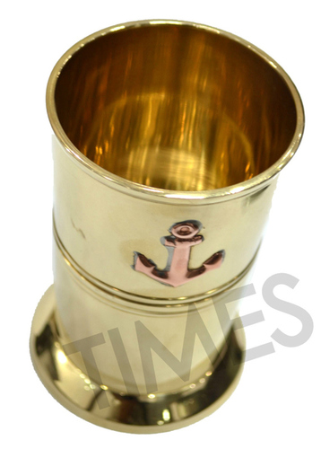 Brass Anchor Glass