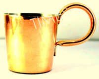 Antique Copper Rum Cup
