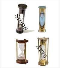 Antique Brass Nautical Sand Timer