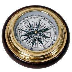 Paper Weight Brass Compass