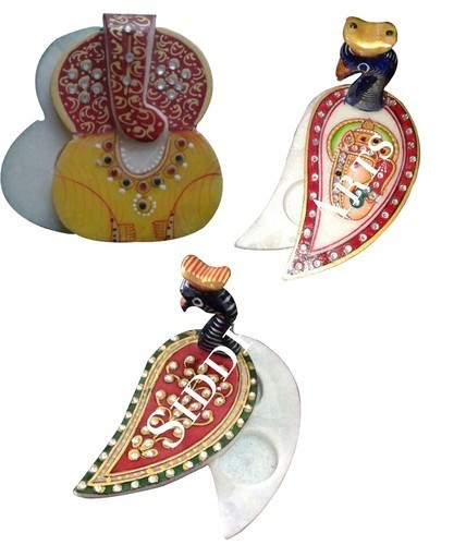 Hand Painted Marble Chopra