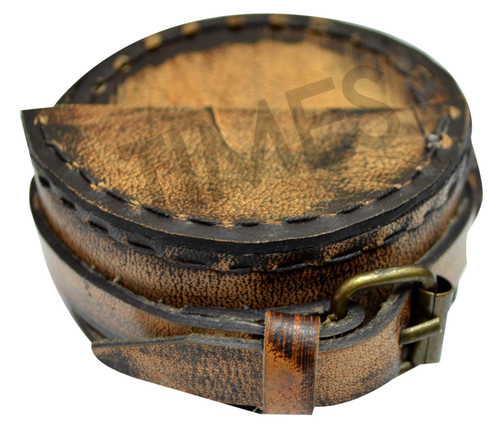 Leather Compass Cover