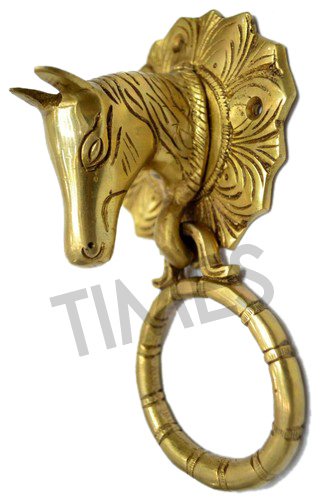 Brass Horse Door Knocker