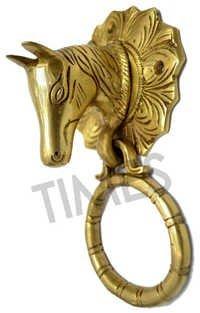 Brass Horse Door Knocker