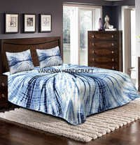 Tie Dye Soft Coverlet Bedspread Cotton Bedsheet
