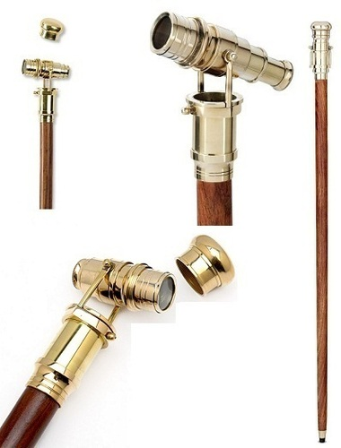 SPY Telescope Walking Stick