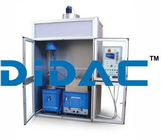 Cabinet With Aspirator For Extraction Unit