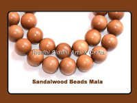 Fine Mysore Sandalwood Bead Necklace