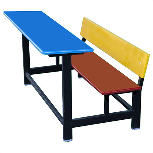 Metal School Bench