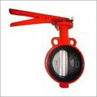 One Shaft Without Pin Type Wafer Butterfly Valve