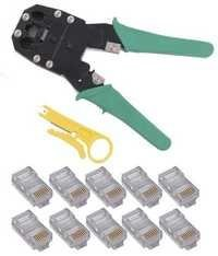 Network LAN Cable Crimping Tool