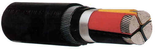 Aluminum Armoured Cable 185 Sqmm 3.5 Core