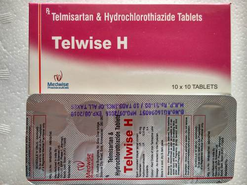 Tablet Telmisartan and Hydrochlorothiazide