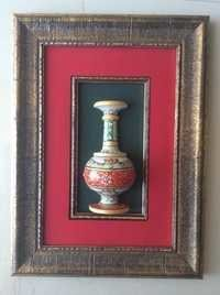Decorative Marble Pot Frame Wall Decor