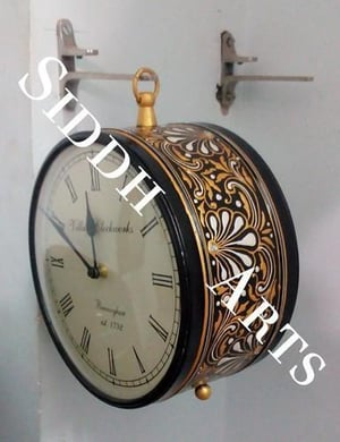 Antique Station Clock & Printed Wall Clocks