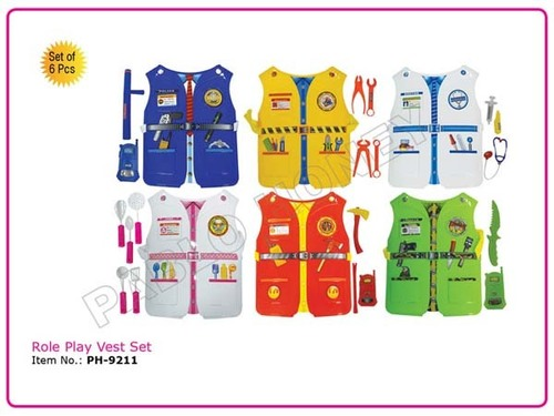 Role Play Vest Set