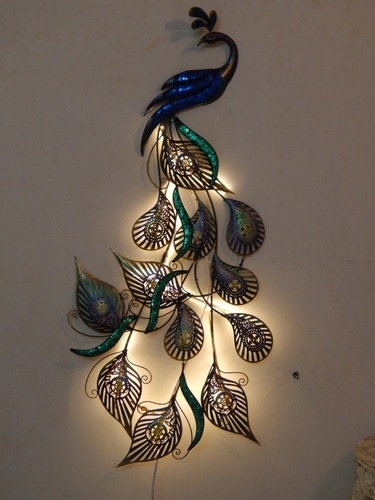 LED Designer Peacock Wall Decor