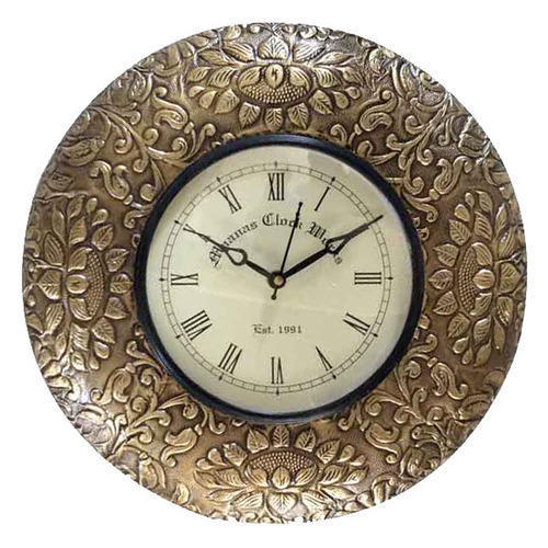 Brass Fitted Clock