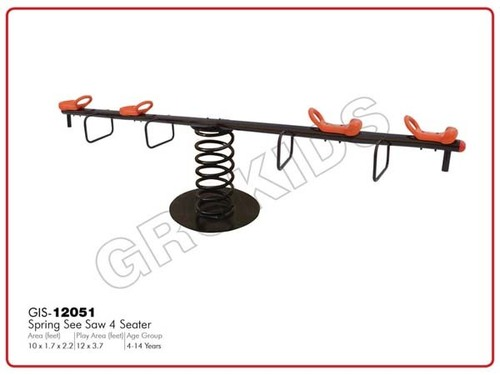 Spring See Saw 4 Seater