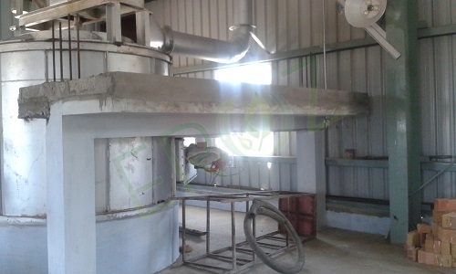 Furnace For Lead Refining Capacity 10 Ton Per Batch