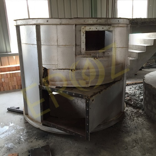 Refractory Linned Kettle or Pot for Lead Refining Plant