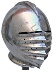 Medieval Maxmillan Armour Helmet
