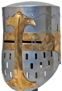 Medieval Knight Armour Helmet