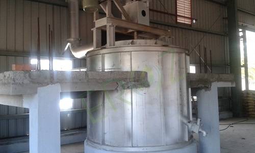 Lead Refining Kettle Capacity 20 Ton Per Batch