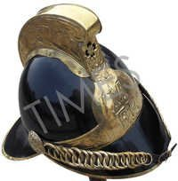 Medieval Fire Man Armour Helmet